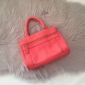 Merona coral salmon medium handbag shoulder bag